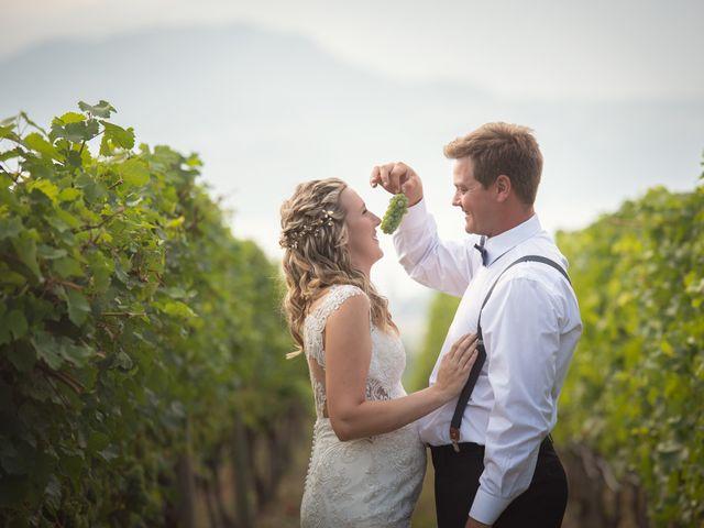 Trevor and Allysha's wedding in Kelowna, British Columbia 12
