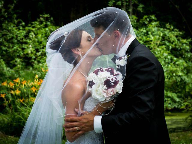 The wedding of Christine and Jonathan
