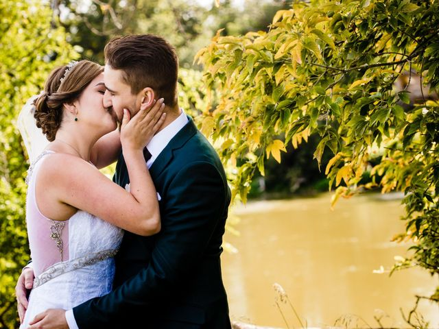 Arthur and Melissa's wedding in Winnipeg, Manitoba 1