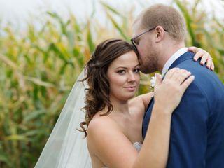 The wedding of Teri and Darren
