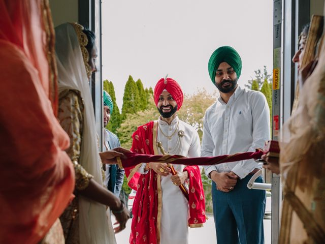 Bikram and Mandy's wedding in Squamish, British Columbia 10