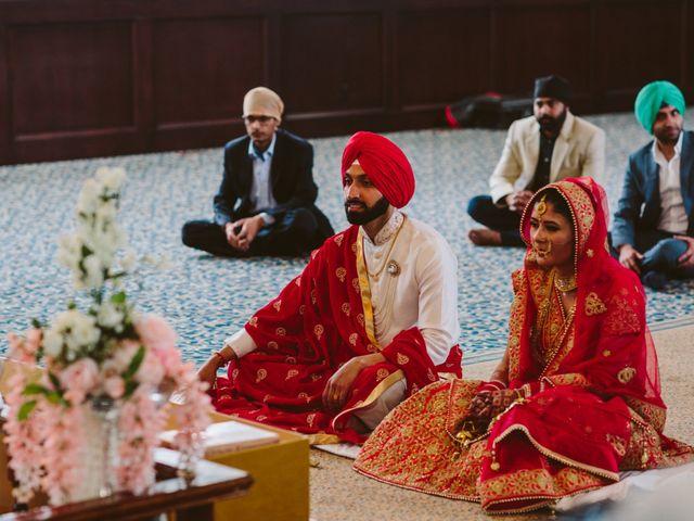 Bikram and Mandy's wedding in Squamish, British Columbia 15