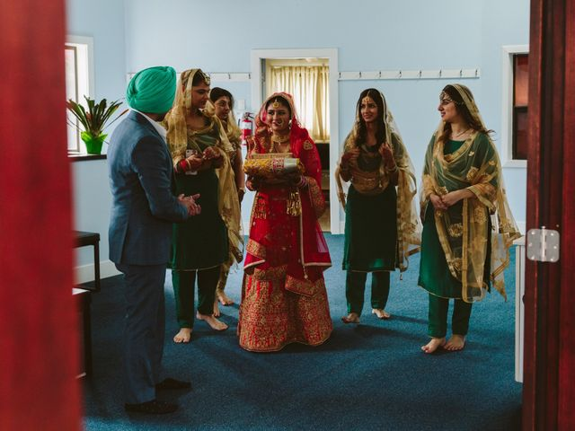 Bikram and Mandy's wedding in Squamish, British Columbia 18