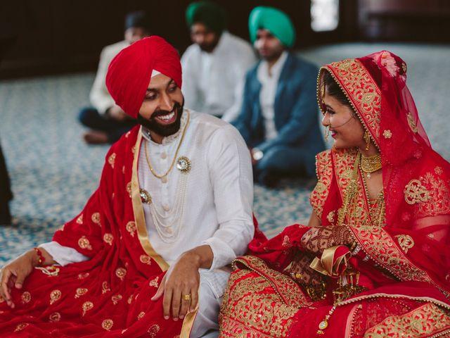 Bikram and Mandy's wedding in Squamish, British Columbia 24
