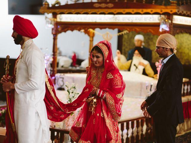Bikram and Mandy's wedding in Squamish, British Columbia 29