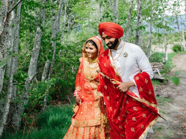 Bikram and Mandy's wedding in Squamish, British Columbia 43