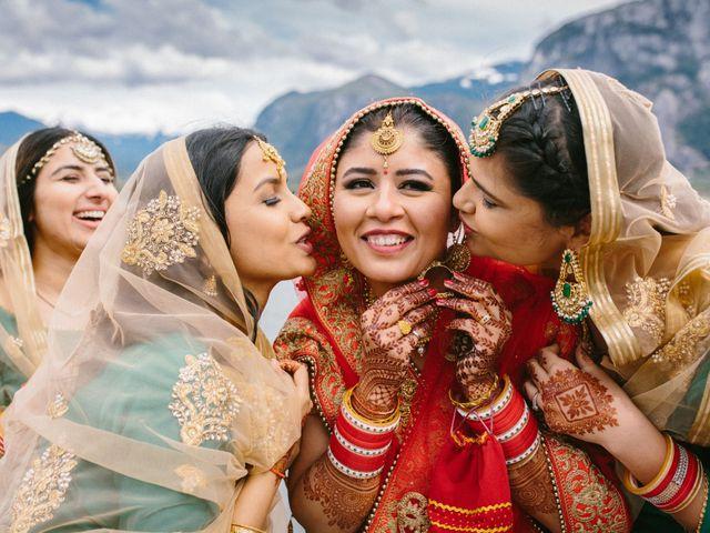Bikram and Mandy's wedding in Squamish, British Columbia 46
