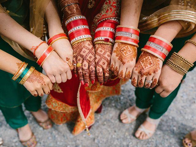 Bikram and Mandy's wedding in Squamish, British Columbia 47