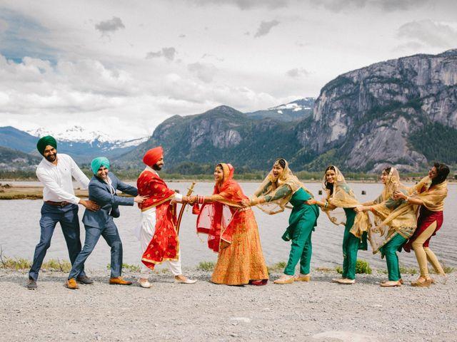 Bikram and Mandy's wedding in Squamish, British Columbia 48