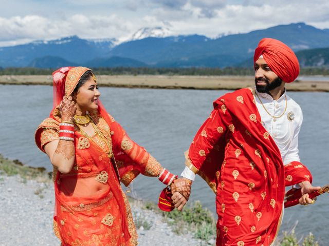 Bikram and Mandy's wedding in Squamish, British Columbia 51