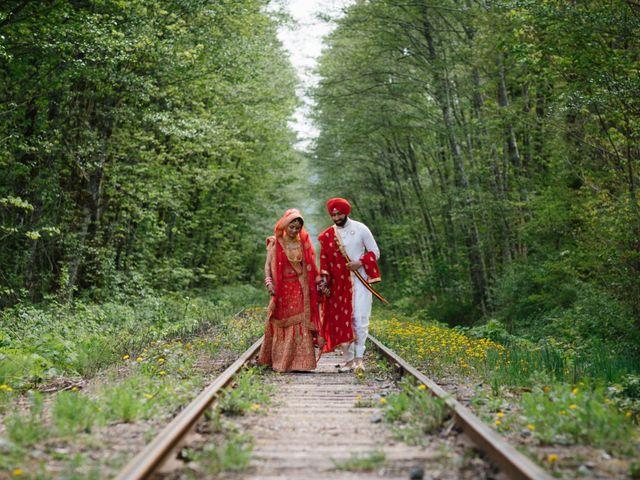 Bikram and Mandy's wedding in Squamish, British Columbia 53