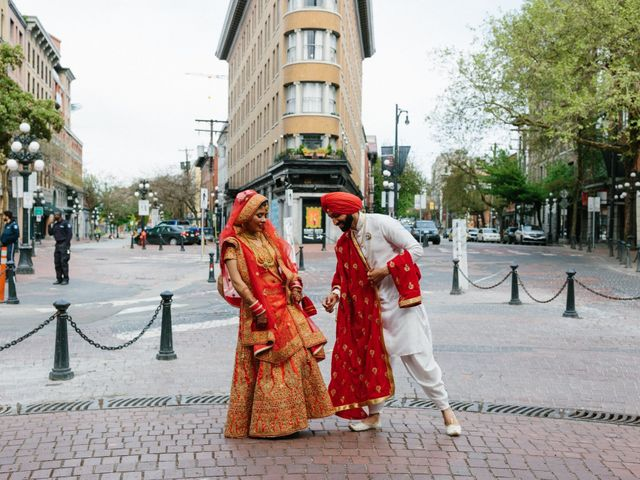 Bikram and Mandy's wedding in Squamish, British Columbia 54