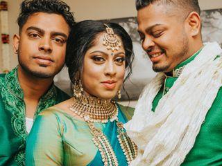 The wedding of Chenduri and Ricardo 1