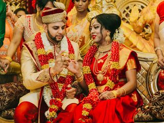 The wedding of Chenduri and Ricardo