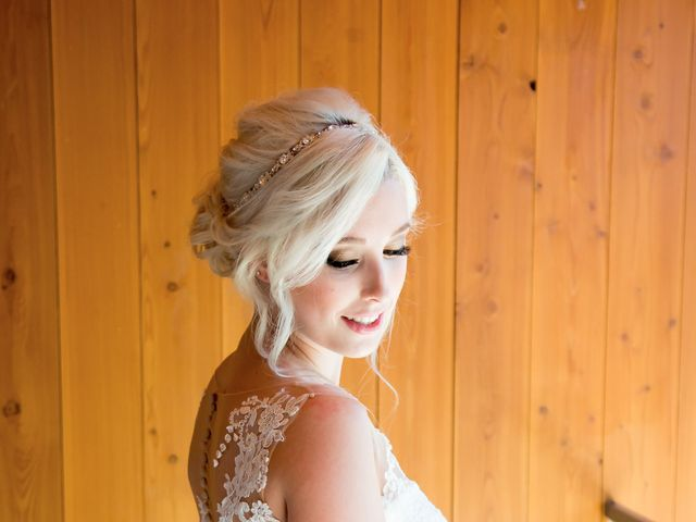 Shelby and Nick's wedding in Summerland, British Columbia 8
