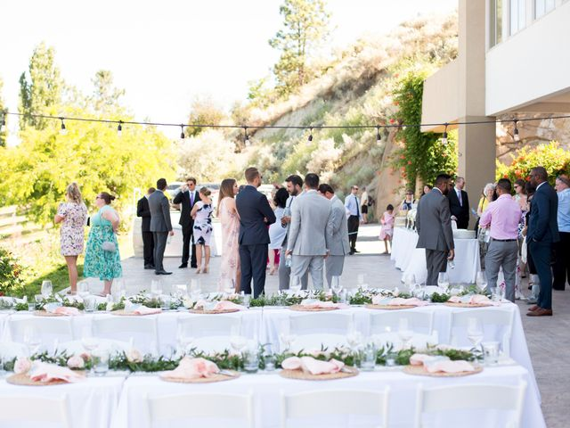 Shelby and Nick's wedding in Summerland, British Columbia 13