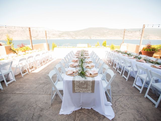 Shelby and Nick's wedding in Summerland, British Columbia 17