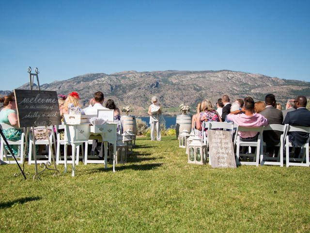 Shelby and Nick's wedding in Summerland, British Columbia 18