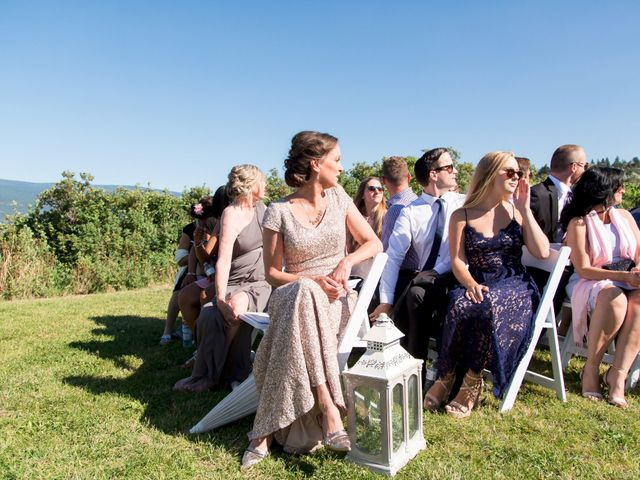 Shelby and Nick's wedding in Summerland, British Columbia 21