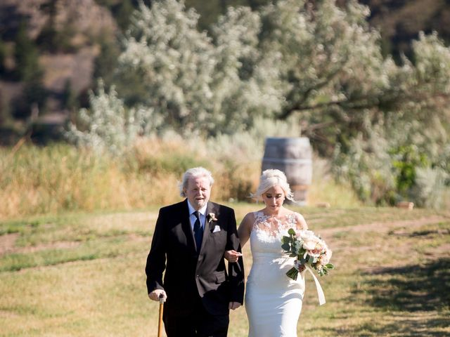 Shelby and Nick's wedding in Summerland, British Columbia 25