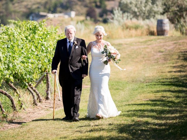 Shelby and Nick's wedding in Summerland, British Columbia 26