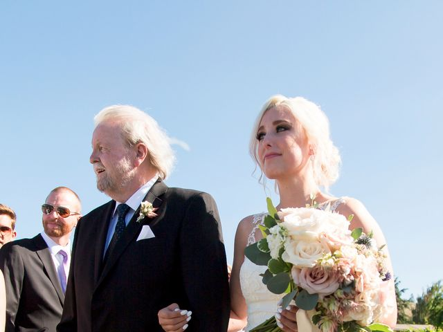 Shelby and Nick's wedding in Summerland, British Columbia 30