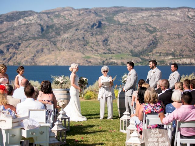 Shelby and Nick's wedding in Summerland, British Columbia 32