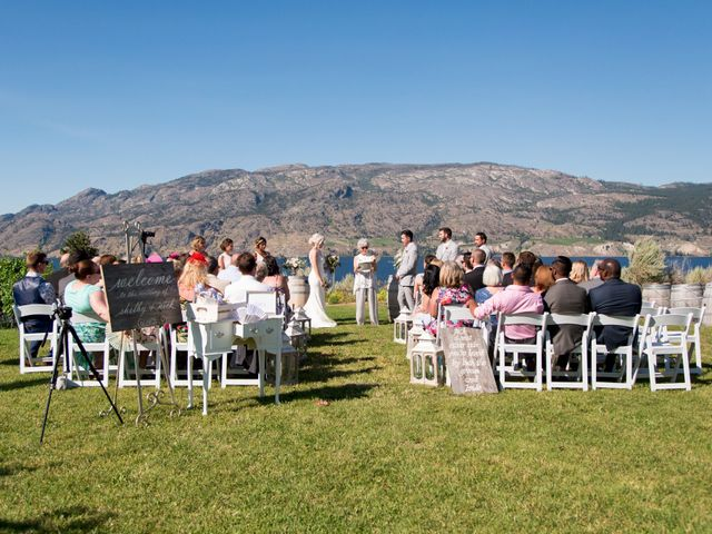 Shelby and Nick's wedding in Summerland, British Columbia 33