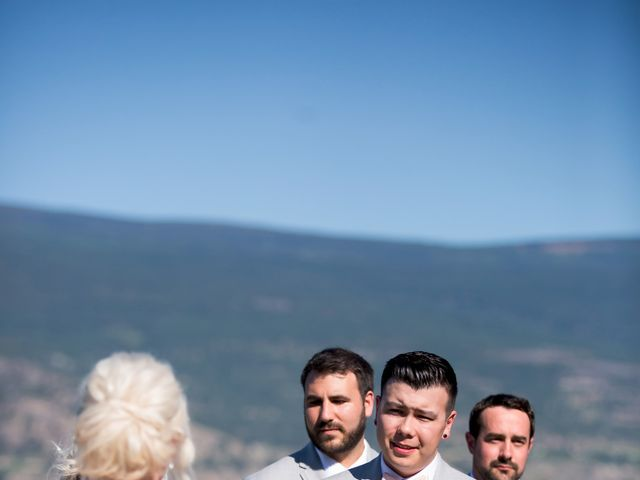 Shelby and Nick's wedding in Summerland, British Columbia 34