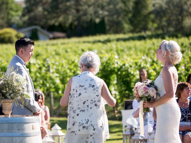 Shelby and Nick's wedding in Summerland, British Columbia 35