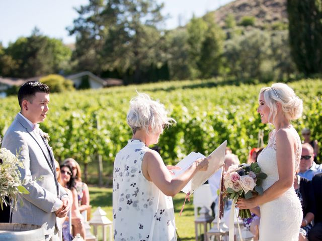 Shelby and Nick's wedding in Summerland, British Columbia 39