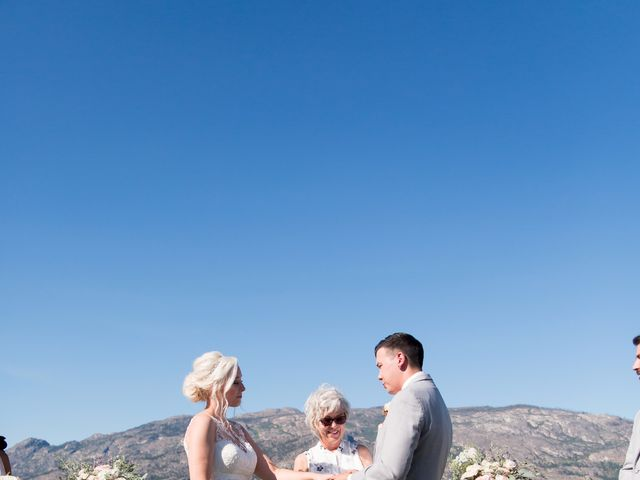 Shelby and Nick's wedding in Summerland, British Columbia 40