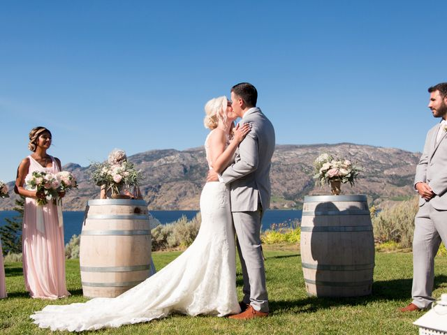 Shelby and Nick's wedding in Summerland, British Columbia 43