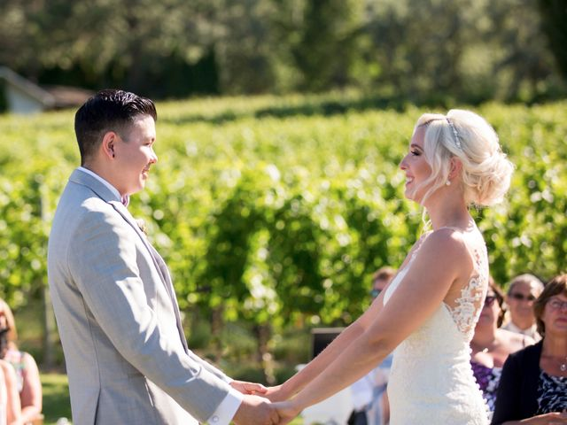 Shelby and Nick's wedding in Summerland, British Columbia 44