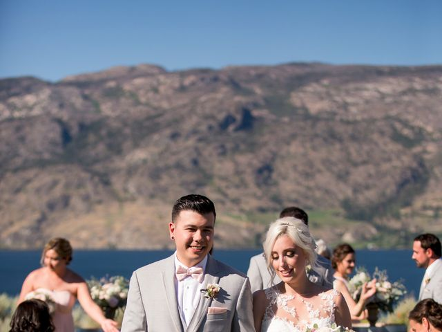 Shelby and Nick's wedding in Summerland, British Columbia 45