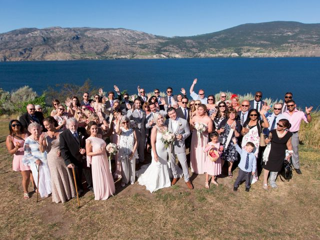 Shelby and Nick's wedding in Summerland, British Columbia 46