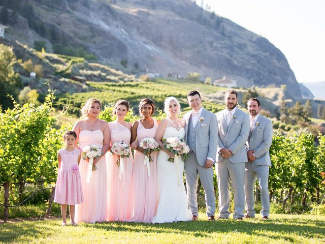 Shelby and Nick's wedding in Summerland, British Columbia 50