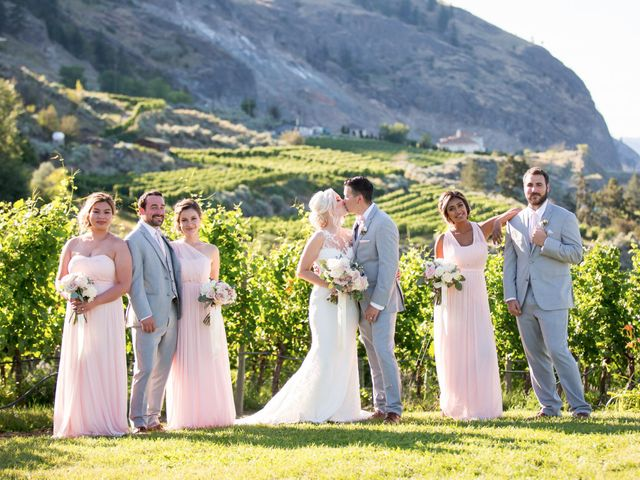Shelby and Nick's wedding in Summerland, British Columbia 52