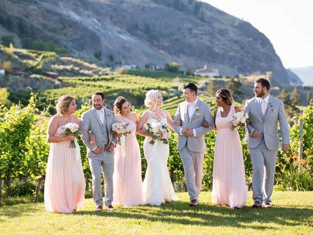 Shelby and Nick's wedding in Summerland, British Columbia 53