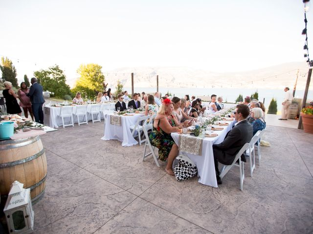 Shelby and Nick's wedding in Summerland, British Columbia 62