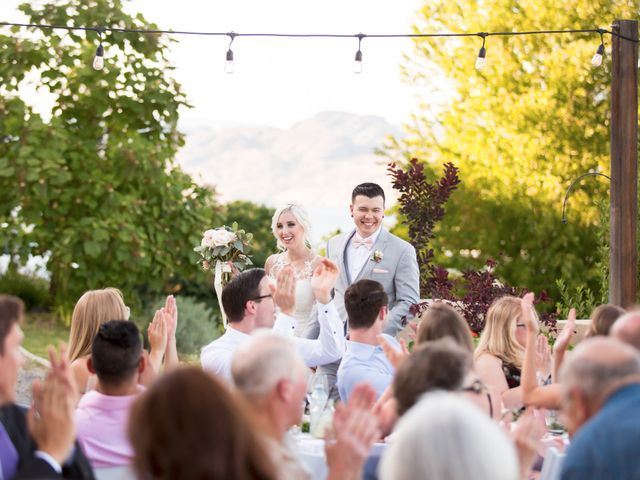 Shelby and Nick's wedding in Summerland, British Columbia 64