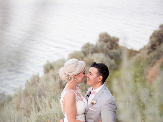 Shelby and Nick's wedding in Summerland, British Columbia 81