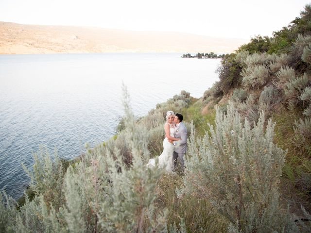 Shelby and Nick's wedding in Summerland, British Columbia 83