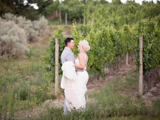 Shelby and Nick's wedding in Summerland, British Columbia 84