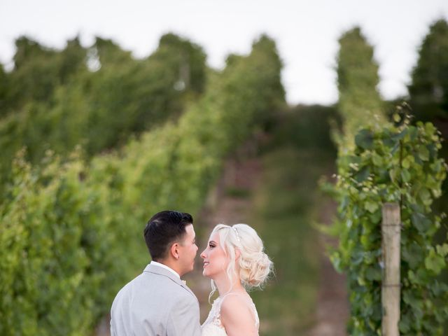 Shelby and Nick's wedding in Summerland, British Columbia 86