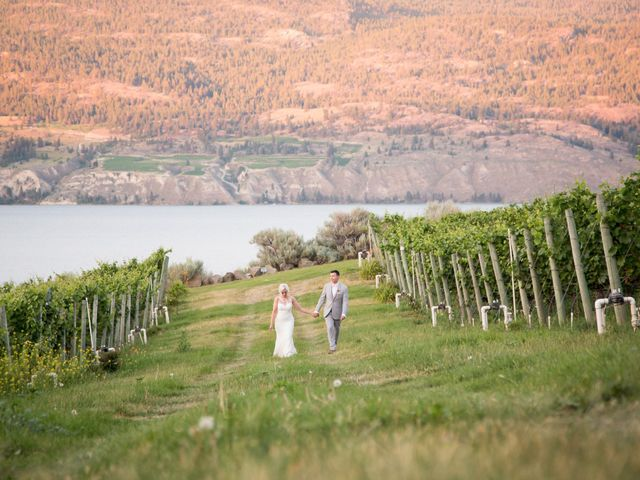 Shelby and Nick's wedding in Summerland, British Columbia 97