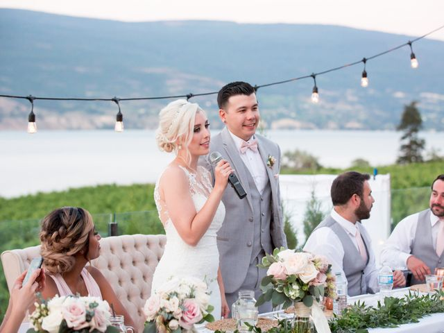 Shelby and Nick's wedding in Summerland, British Columbia 100