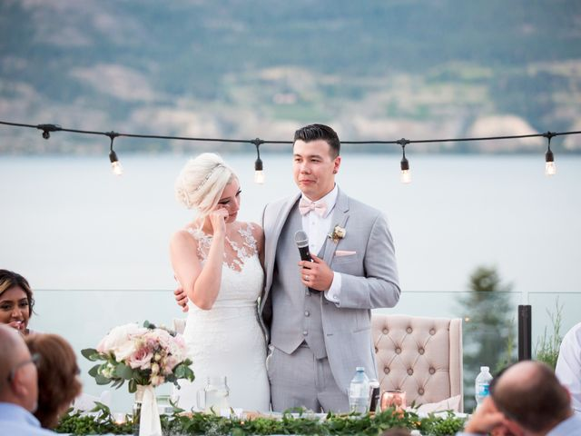 Shelby and Nick's wedding in Summerland, British Columbia 102