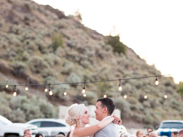 Shelby and Nick's wedding in Summerland, British Columbia 109