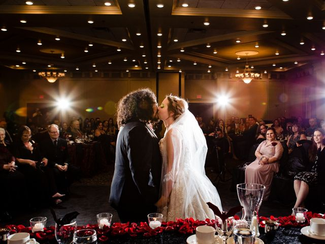 The wedding of Amanda and Lloyd